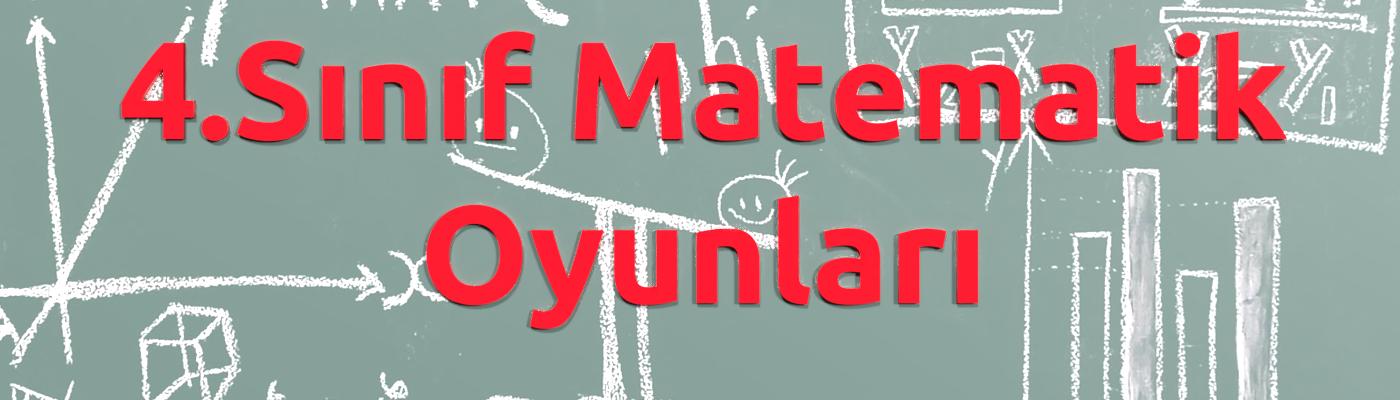 4.Sınıf matematik oyunları