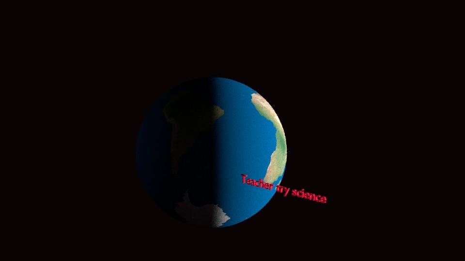 dünyamız yerinde durmuyor