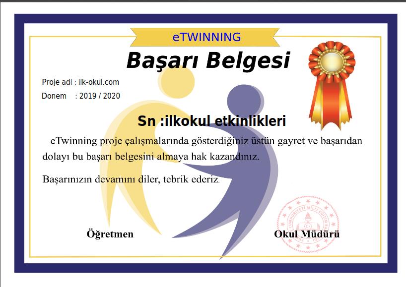 etwinning sertifika